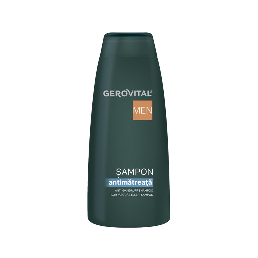 Gerovital Men Shampoo antiforfora