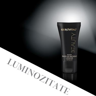 Base trucco illuminante Gerovital Beauty