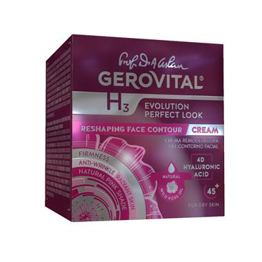 Crema Rimodellamento Contorno Viso Gerovital H3 Evolution Perfect Look