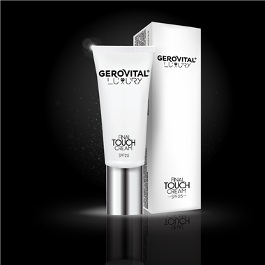 Crema final touch spf25 Gerovital Luxury