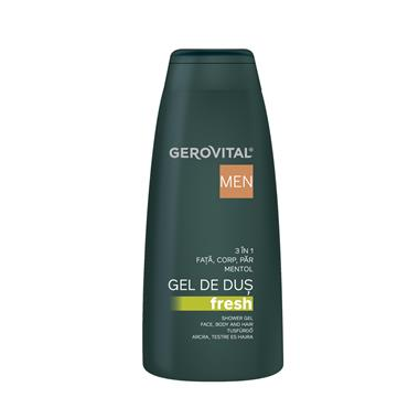 Gerovital Men Gel doccia Fresh 3 in 1