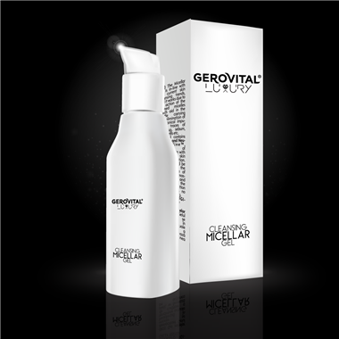 Gel micelar demachiant Gerovital Luxury