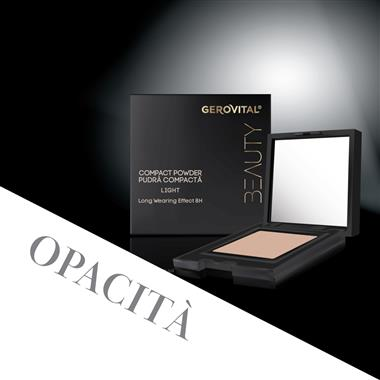Cipria compatta LIGHT, 8h Gerovital Beauty